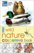 RSPB Wild Nature Colouring Book