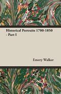 Historical Portraits 1700-1850 - Part I