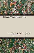 Modern Verse 1900 - 1940