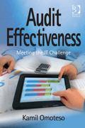 Audit Effectiveness : Meeting the IT Challenge