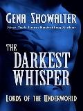The Darkest Whisper (Thorndike Press Large Print Romance Series)