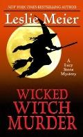 Wicked Witch Murder (Thorndike Press Large Print Mystery Series)