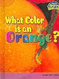 What Color Is an Orange?