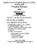 Physics Demos and Hands-ONS
