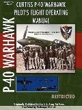 P-40 Warhawk Pilot's Flight Operating Manual