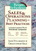 Sales & Operations Planning - Best Practices Lessons Learned from Worldwide Companies