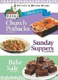 3 Books in 1: Church Potlucks, Sunday Suppers, and Bake Sale (Favorite Brand Name Series)