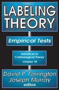 Labeling Theory : Empirical Tests