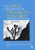 Sage Handbook for Research in Education Engaging Ideas And Enriching Inquiry