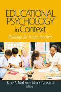 Educational Psychology in Context Readings for Future Teachers