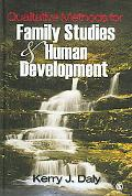 Qualitative Methods for Family Studies And Human Development