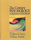 21 Century Psychology A Reference Handbook