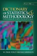 Dictionary of Statistics & Methodology: A Nontechnical Guide for the Social Sciences (Vogt, ...