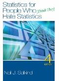 Statistics for People Who (Think They) Hate Statistics, 4th