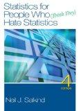 Statistics for People Who (Think They) Hate Statistics [With DVD]