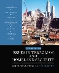 Issues in Terrorism and Homeland Security : Selections from CQ Researcher