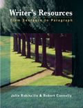 Writer's Resources: From Sentence to Paragraph (with Writer's Resources 2.0 BCA/iLrn(TM) CD-...