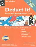 Deduct It!: Lower Your Small Business Taxes - Stephen Fishman - Paperback