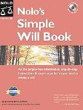 Nolo's Simple Will Book