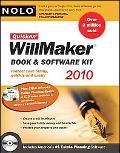 Quicken Willmaker 2010 Edition: Book & Software Kit