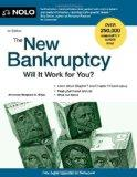 The New Bankruptcy: Will It Work for You?
