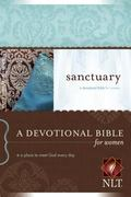 Sanctuary New Living Translation Version, a Devotional Bible for Women