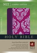 Compact Edition Nlt Tutone Leather Fuschia Floral Plum