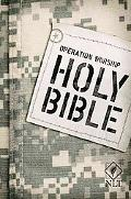 Operation Worship Compact NLT (Army edition) (Compact Edition: Nltse)