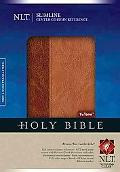 Slimline Center Column Reference Bible NLT, TuTone (Slimline Reference: Nltse)