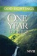 God Sightings: The One Year Bible NIV