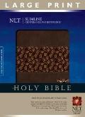 Slimline Reference Bible NLT, Tutone, Center Column Reference Edition