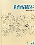 Encyclopedia of World Biography 2007 Supplement