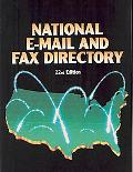 National Email and Fax Directory 22nd Ed