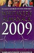 Whitaker's Almanack 2009