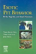 Exotic Pet Behaviour Birds, Reptiles And Small Mammals
