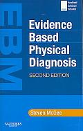 Evidence Based Physical Diagnosis Textbook With Bonus Pocketconsult Handheld Software