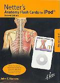 Netter's Anatomy Flash Cards on Ipod