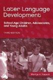 Later Language Development: School-Age Children, Adolescents, and Young Adults