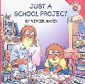 Just A School Project (Turtleback School & Library Binding Edition) (New Adventures of Merce...
