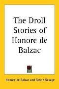 Droll Stories of Honore de Balzac