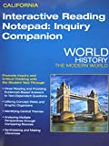 Interactive Reading Notepad: Inquiry Companion for California World History: The Modern World