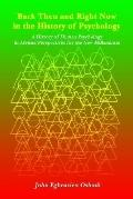 Back Then And Right Now In The History Of Psychology A History Of Human Psychology In Africa...