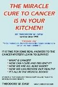 Miracle Cure To Cancer Is In Your Kitchen!