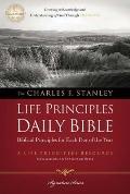 Charles F. Stanley Life Principles Daily Bible, NASB