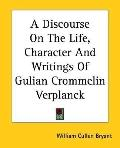 Discourse on the Life, Character and Writings of Gulian Crommelin Verplanck