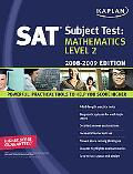 Kaplan Sat Subject Test Math Level 2 2008-2009