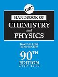 CRC Handbook of Chemistry and Physics, 90th Edition