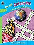 Fun With Antonyms Crossword Puzzles And Word Searches Grades 4 & Up