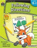Following Directions, Kindergarten - 1st Grade