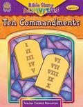 Bible Story Activities Ages 7-11: Ten Commandments